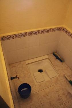 Turkish toilets.
